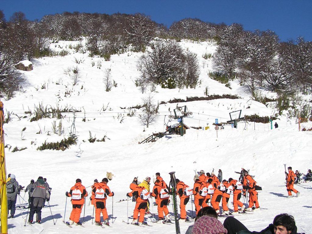 Ski en el Cerro Catedral, Bariloche