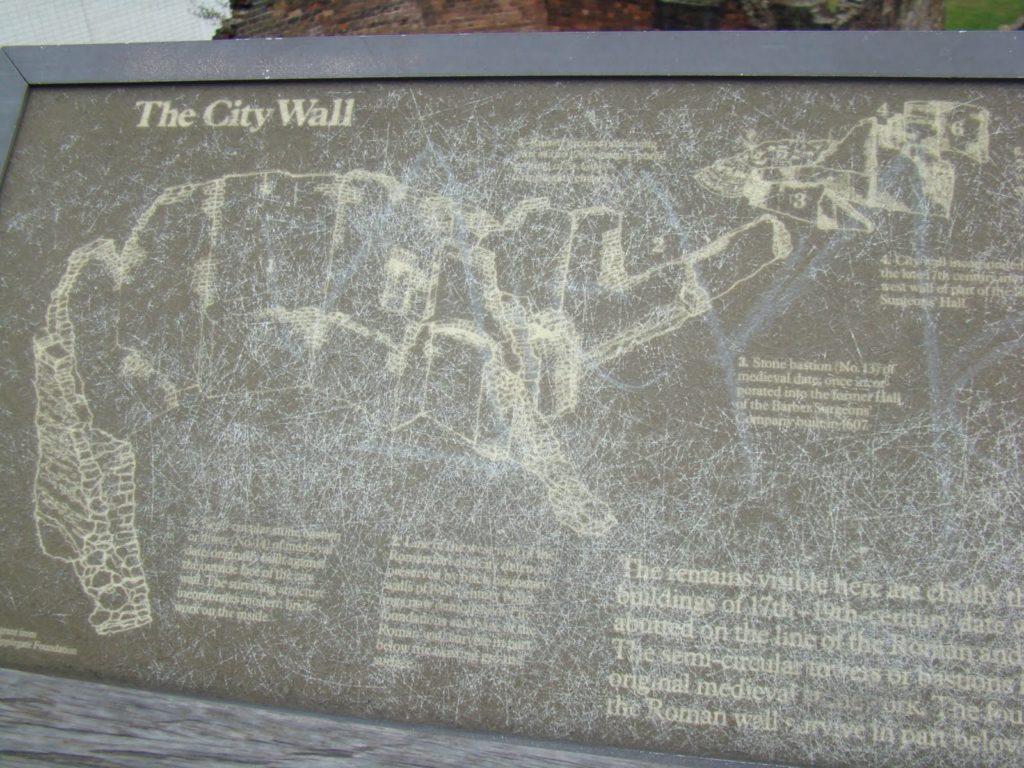London Wall, Muro de Londres, Elisa N, Blog de Viajes, Lifestyle, Travel