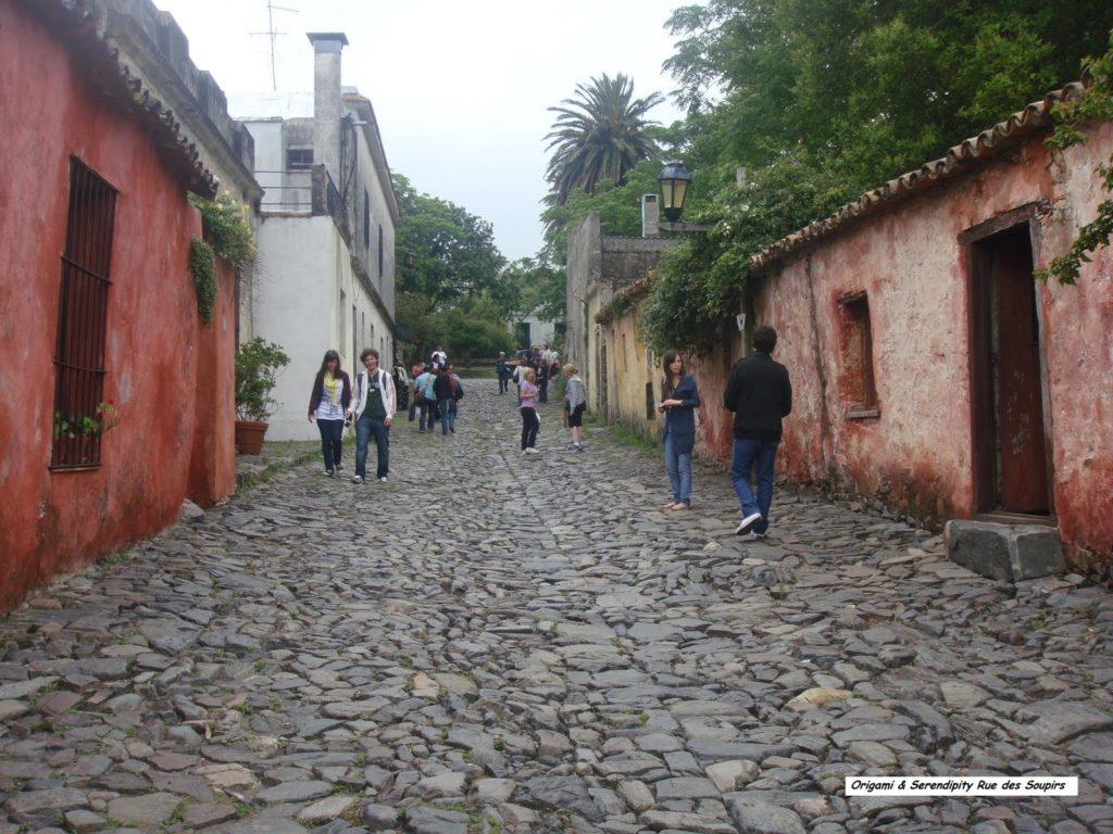 Calle de los Suspiros en Colonia del Sacramento, Uruguay