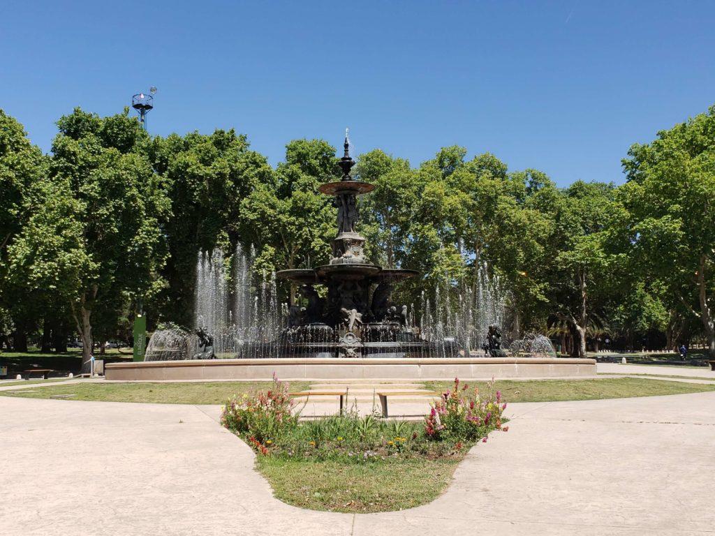 Fuente de los Continentes, Parque San Martín, Mendoza