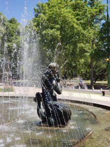 Estatuas de la Fuente de los Continentes