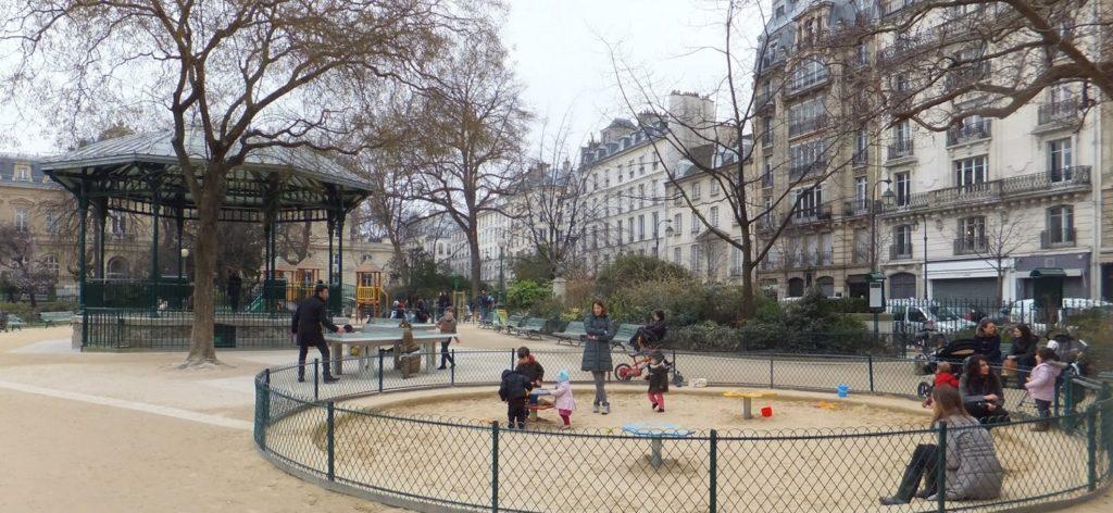 Square du Temple, París