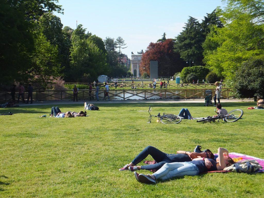 Parco Sempione, Castello Sforza, Milán, Milano, Italia, blog de viajes, Elisa N, Argentina
