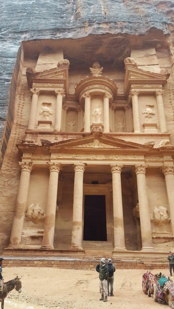 Templo, Petra, Jordania, Jordan, Elisa N, Blog de Viajes Argentina