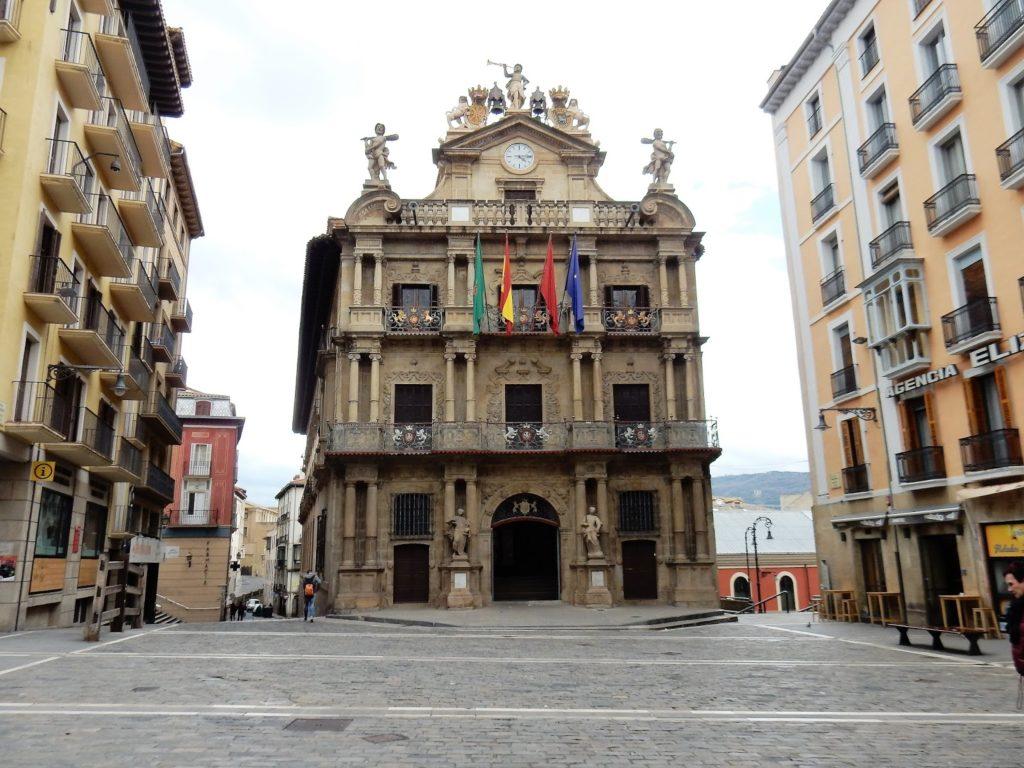 Ayuntamiento, Casa Consistorial, Pamplona, Navarra, Elisa N, Blog de Viajes, Lifestyle, Travel
