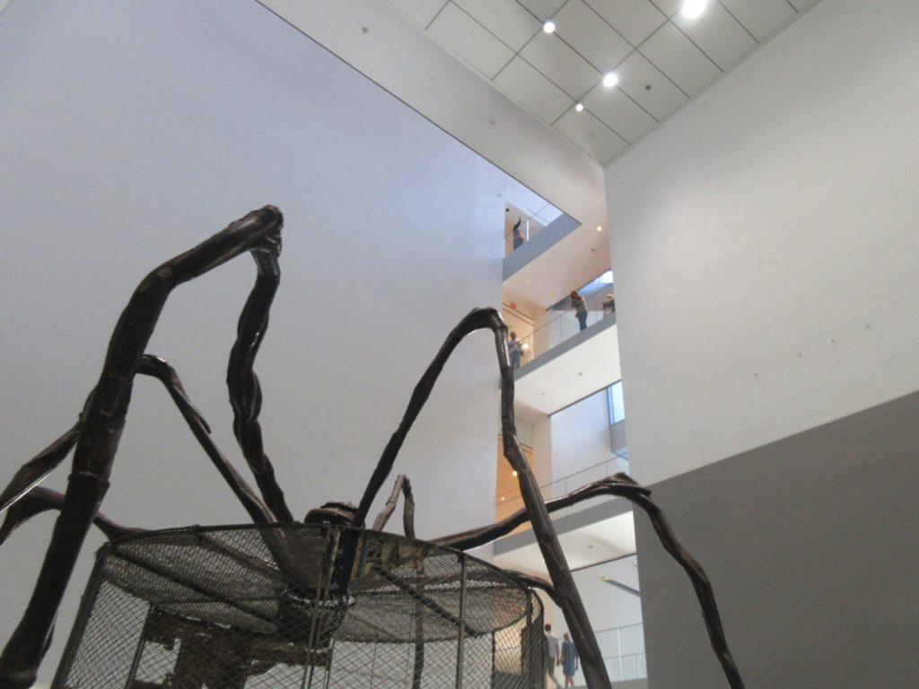 Maman, Louise Bourgeois, MOMA, Museum of Modern Art, New York, Elisa N, Blog de Viajes, Lifestyle, Travel
