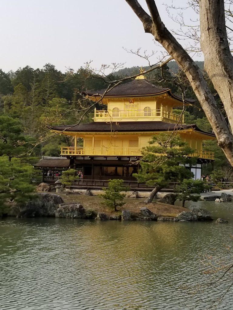 Pabellón de oro en Kyoto