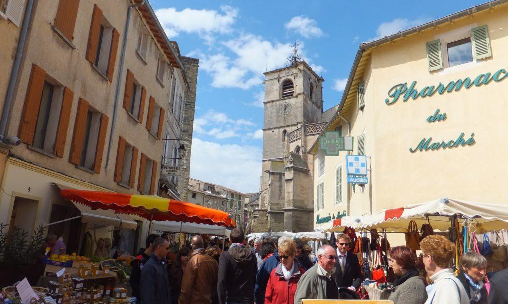 Mercado, Isle sur la Sorgue, Provence, Francia
