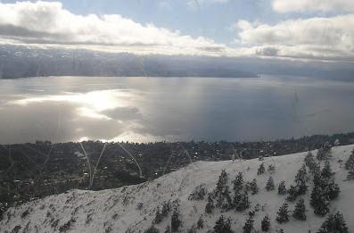 Atardecer en Bariloche
