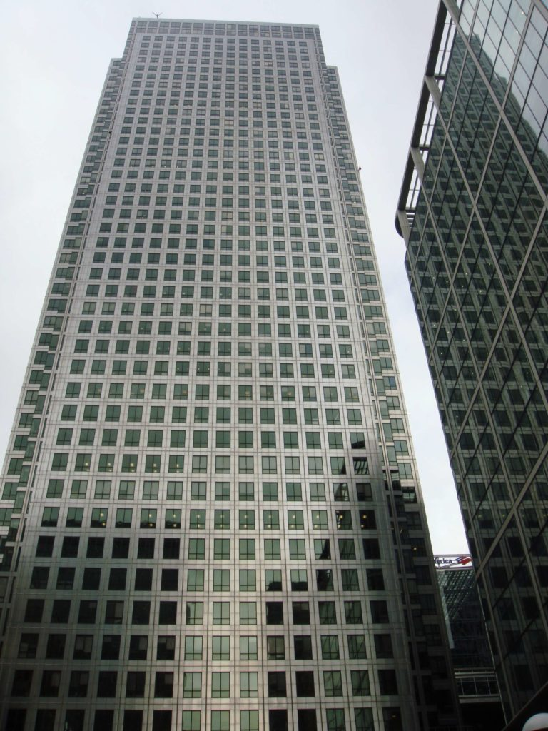 One Canada Tower, Canary Wharf distrito financiero de Londres