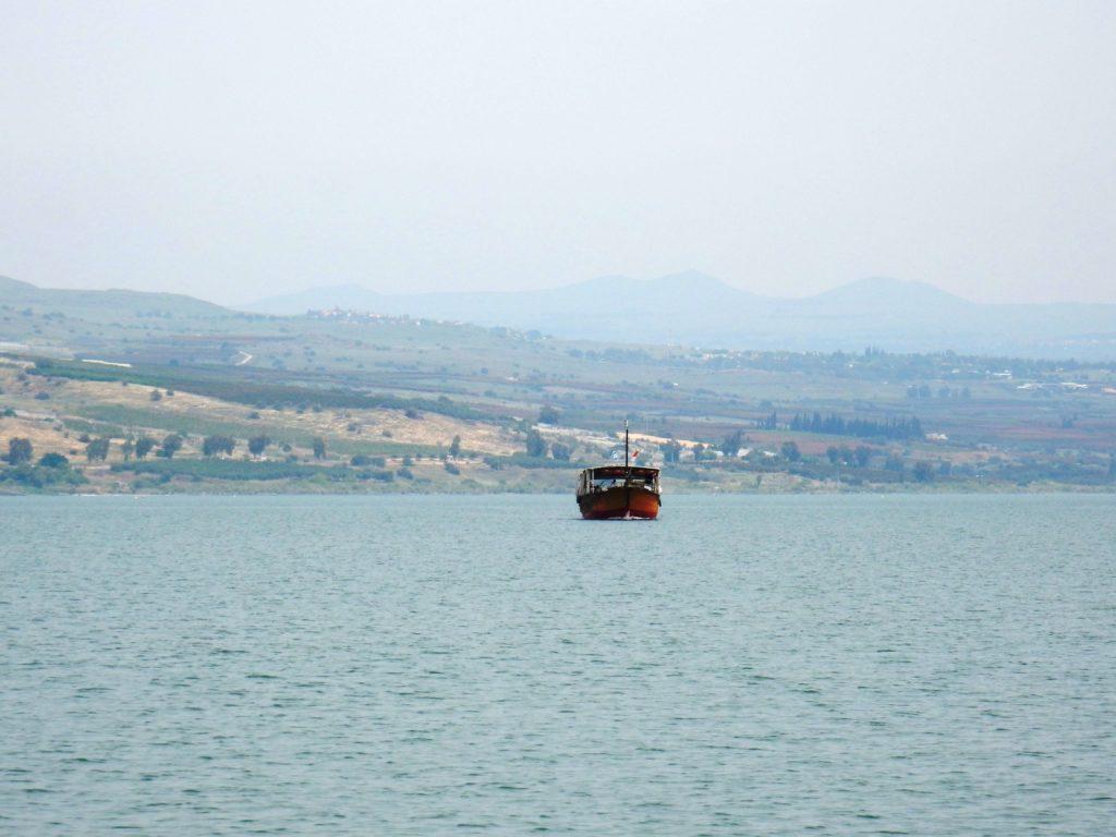 Mar de Galilea, Israel