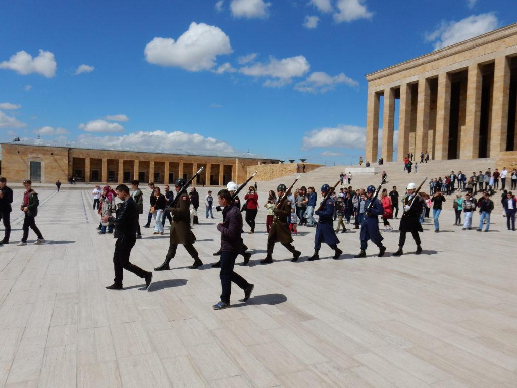 Cambio de Guardia, Ankara, Turquía