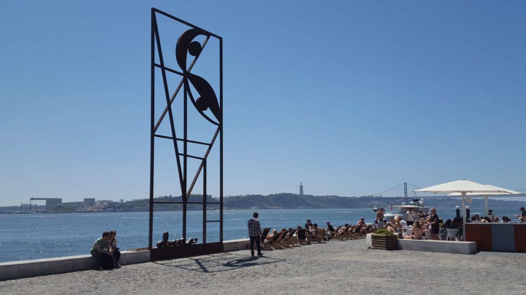 Sobre el Tajo, Lisboa, Portugal