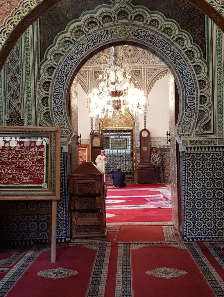 En la medina de Fez en Marruecos