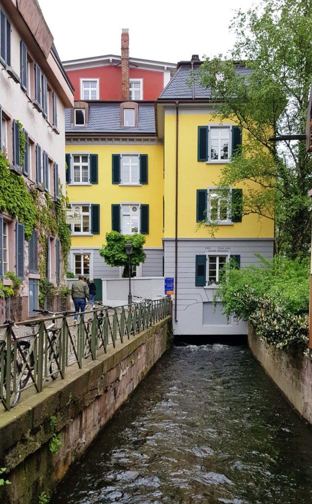 Canales alrededor de las calles Gerberau y Fischerau, Altstadt, Freiburg