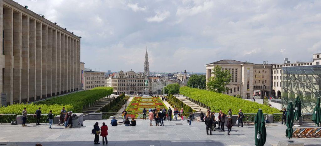 Mont des Arts, Quartier Royal, Bruselas, Bélgica