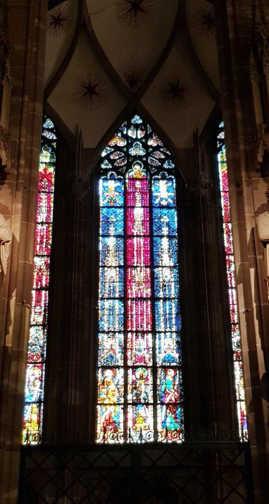Vitraux, Cathedrale, Strasbourg, Alsace, France