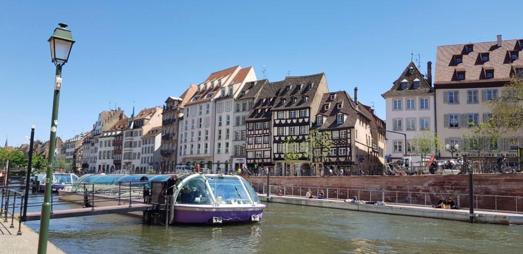 Bateaux Mouches, Estrasburgo, Alsacia, Francia