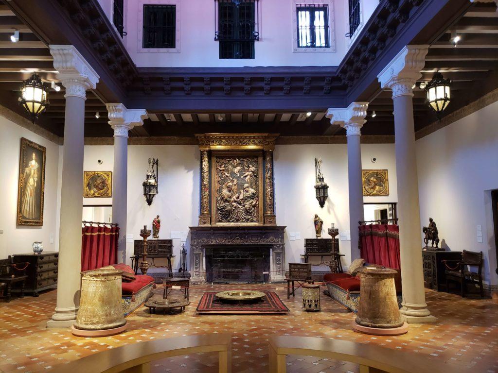 Museo de arte español Enrique Larreta, Buenos Aires, Argentina