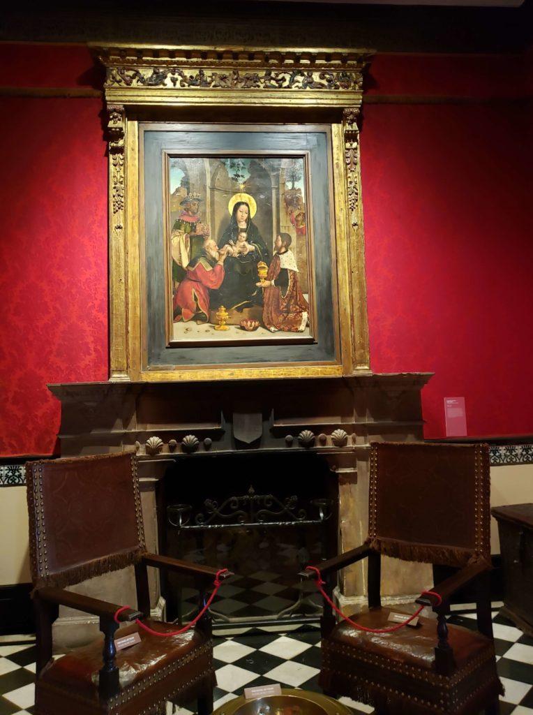 Retablo, Oratorio, Museo de Arte Español Larreta