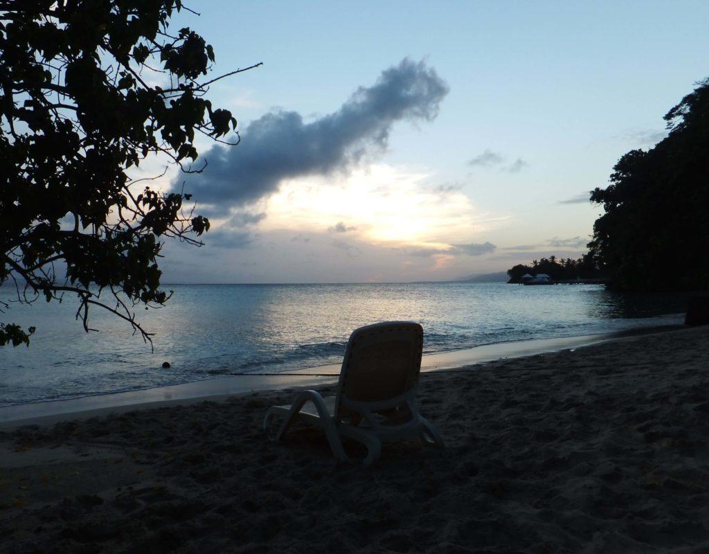 Atardecer en Cayo Levantado, Samaná, República Dominicana
