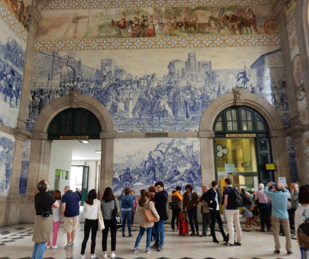 Estación Sao Bento, Oporto