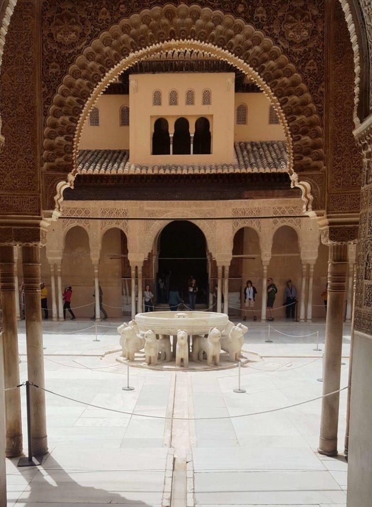 Fuente de los Leones, Alhambra, Granada