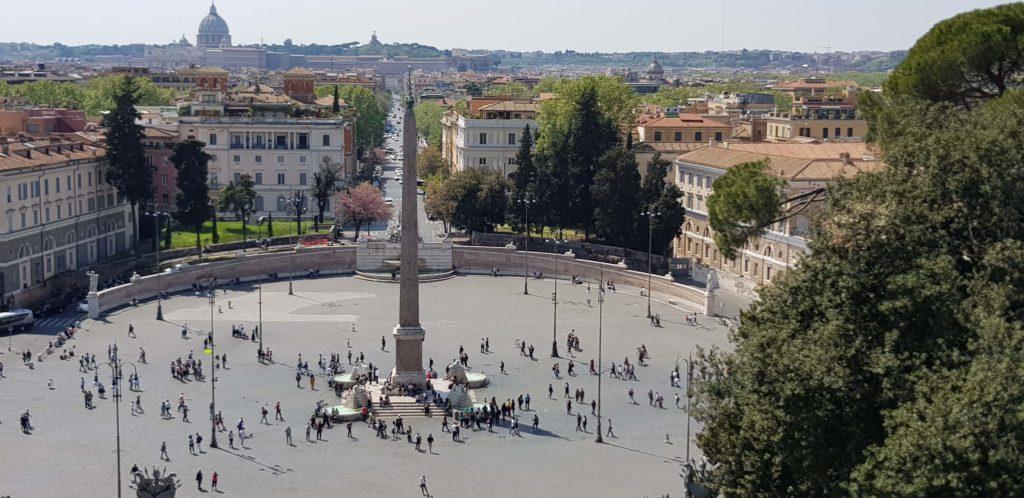Piazza del Popolo, Roma 2019