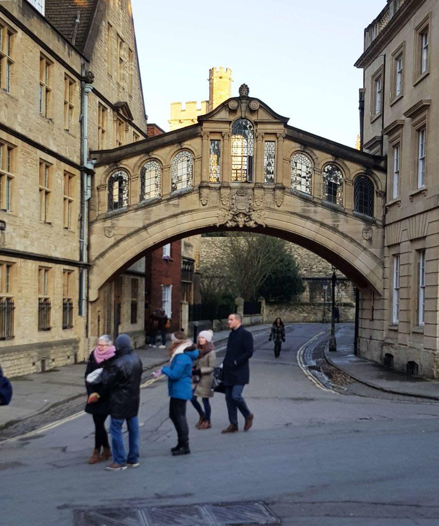 Puente de los Suspiros, Estudiar en Oxford, England, Britain 2019
