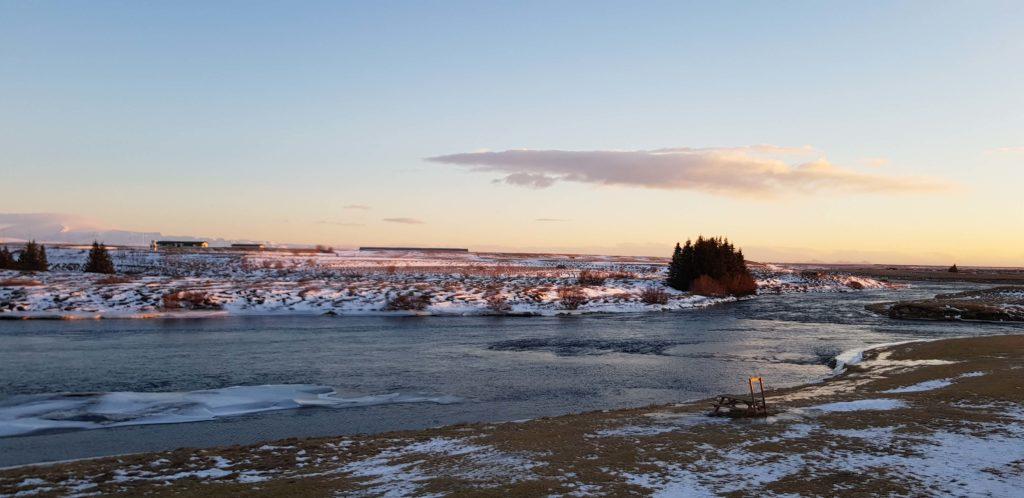 Desde el River Hotel, Hella, Islandia