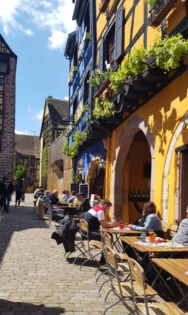 Restaurants, Rue du Général De Gaule, Riquewihr