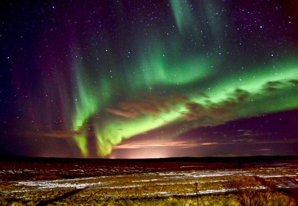 Auroras Boreales, Hella, Islandia