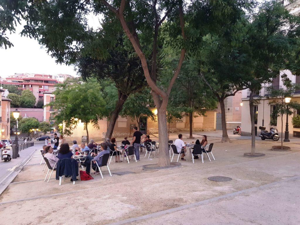 Plaza de la Paja, un día en Madrid