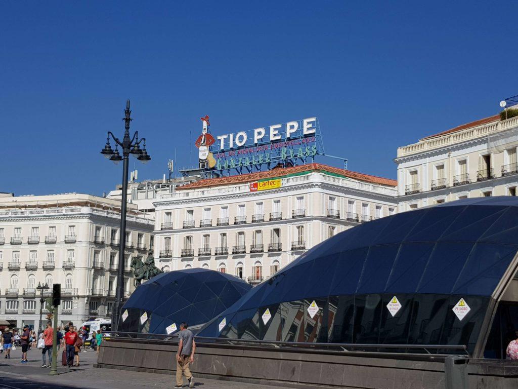 Puerta del Sol, un día en Madrid
