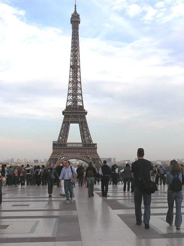 Campo de Marte, Torre Eiffel, París