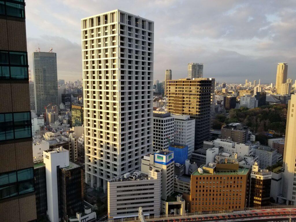 Vista desde la habitación del Hotel New Otani en Tokio