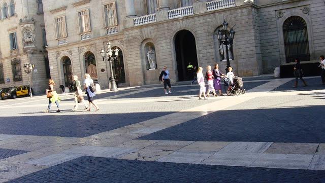 Plaza de San Jaume, Barcelona