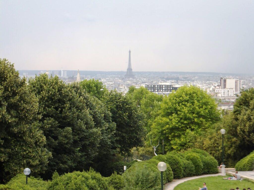 Circuitos menos conocidos de París, Parc de BelleVille
