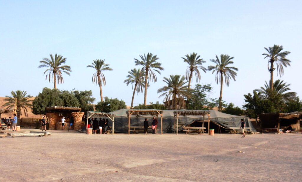 Kfar Hanokdim, campamento beduino desierto de Judea, Israel