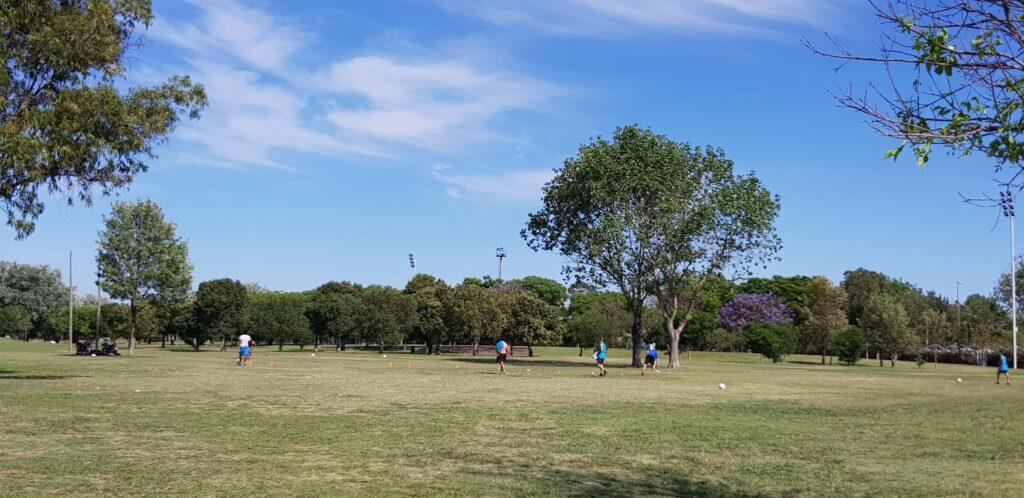 Fútbol, Parque Scalabrini Ortiz, Rosario, Argentina