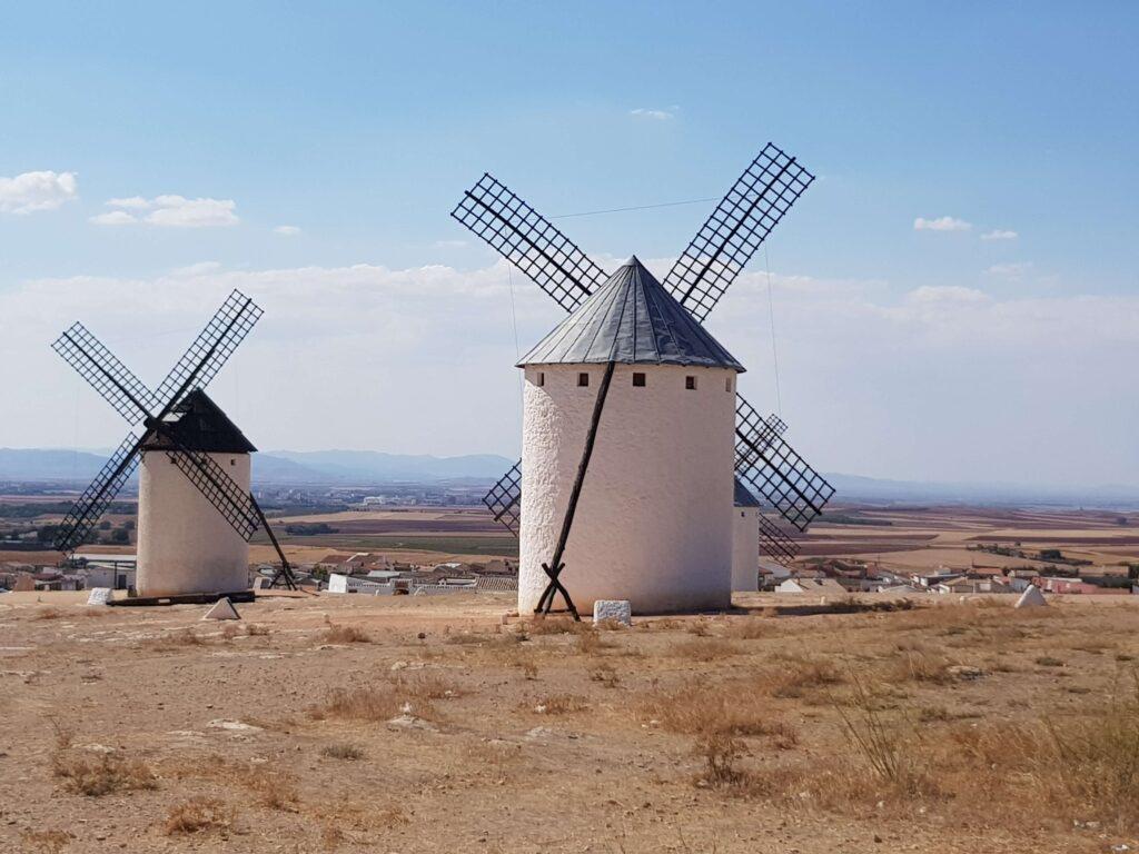 Molinos de don Quijote en los Campos de Criptana