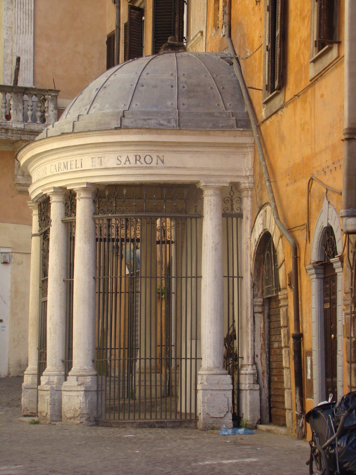 En un barrio especial de Roma