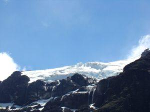 Cerro Tronador y después el silencio