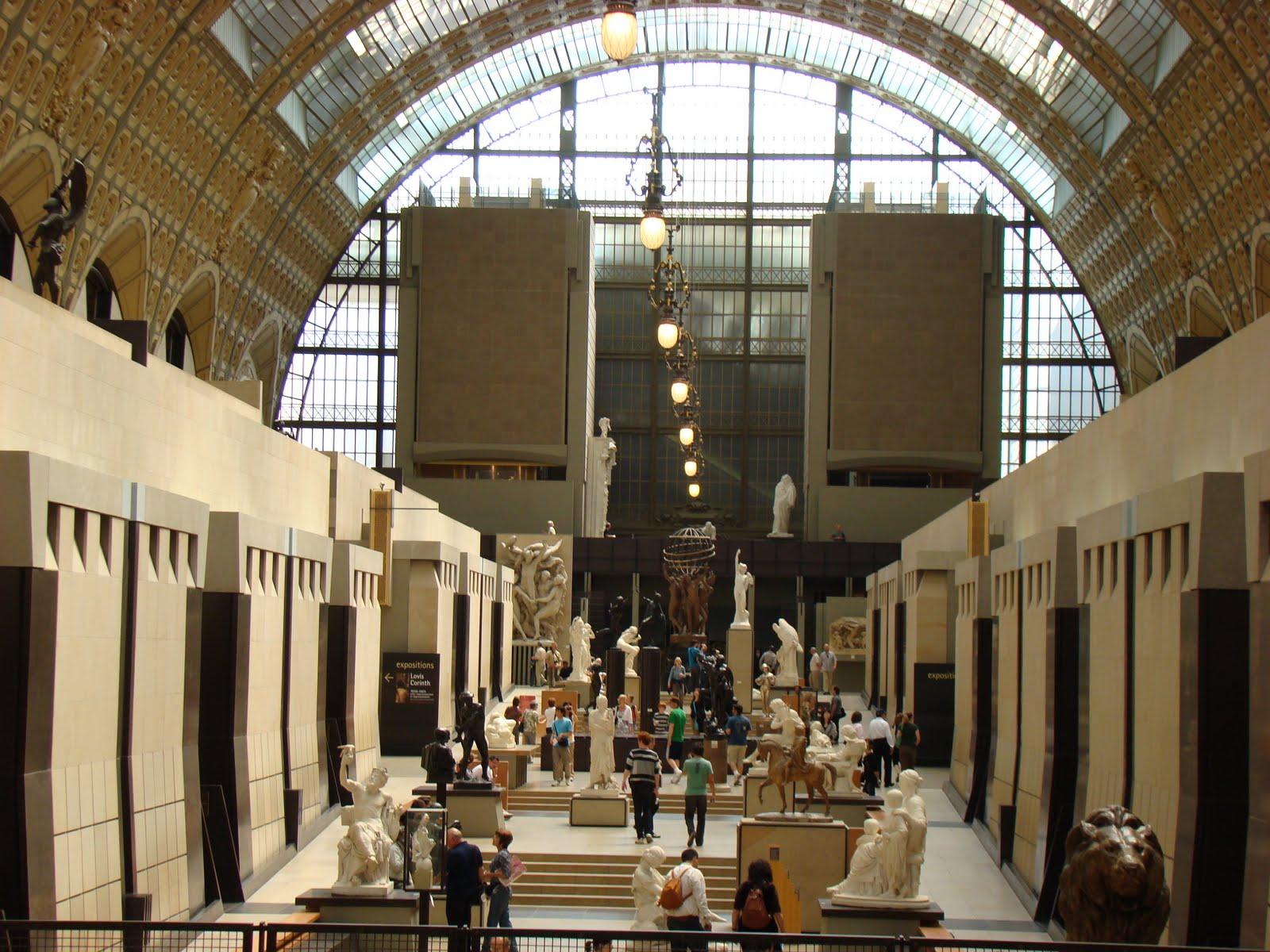 Edificio del Museo de Orsay en París