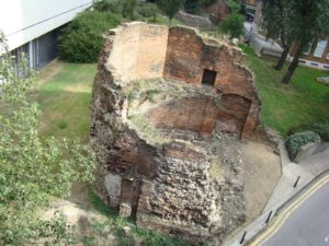 London wall, vestigios de la antigua Londinium