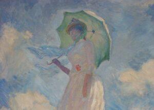 Lee más sobre el artículo Monet en Orsay: mujer etérea con sombrilla