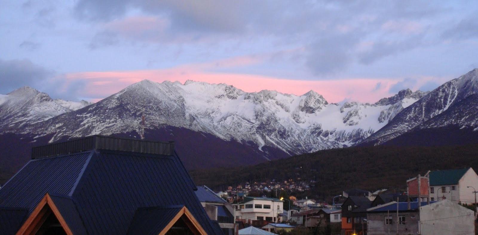 Levantarse con el sol en Ushuaia