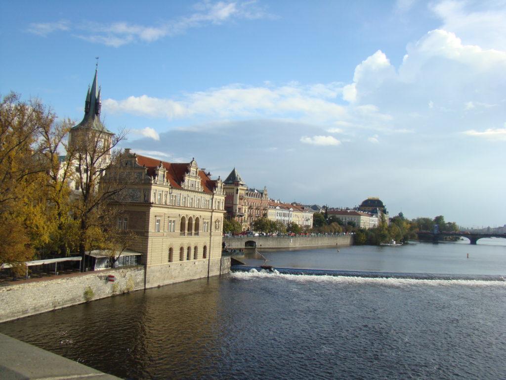 Vtlava, Praha