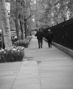 New York en blanco y negro: Gramercy Park