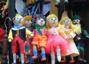Las simpáticas marionetas de Praga